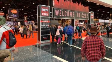 C2E2 2020 convention entrance