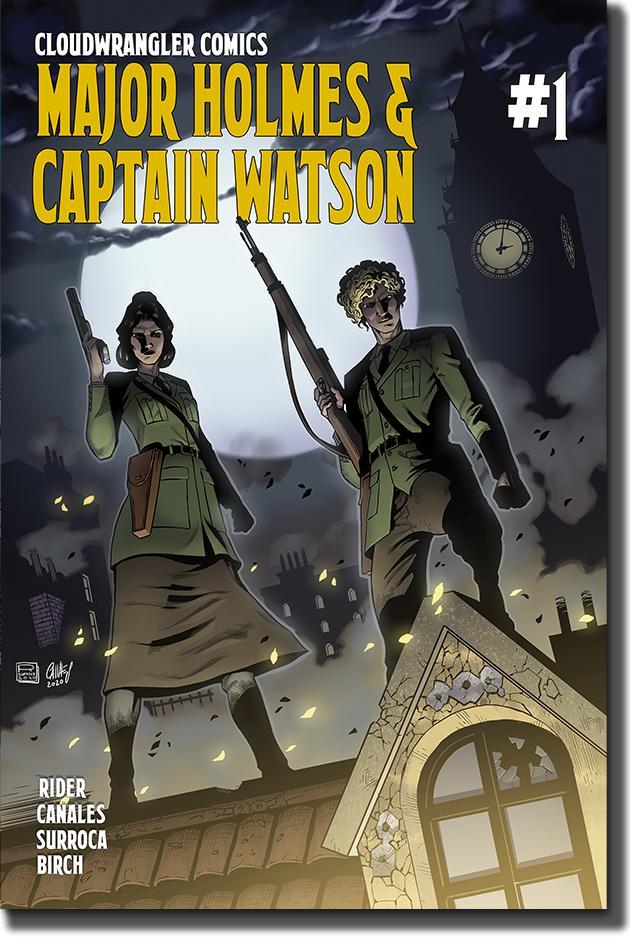 Major Holmes & Captain Watson #1