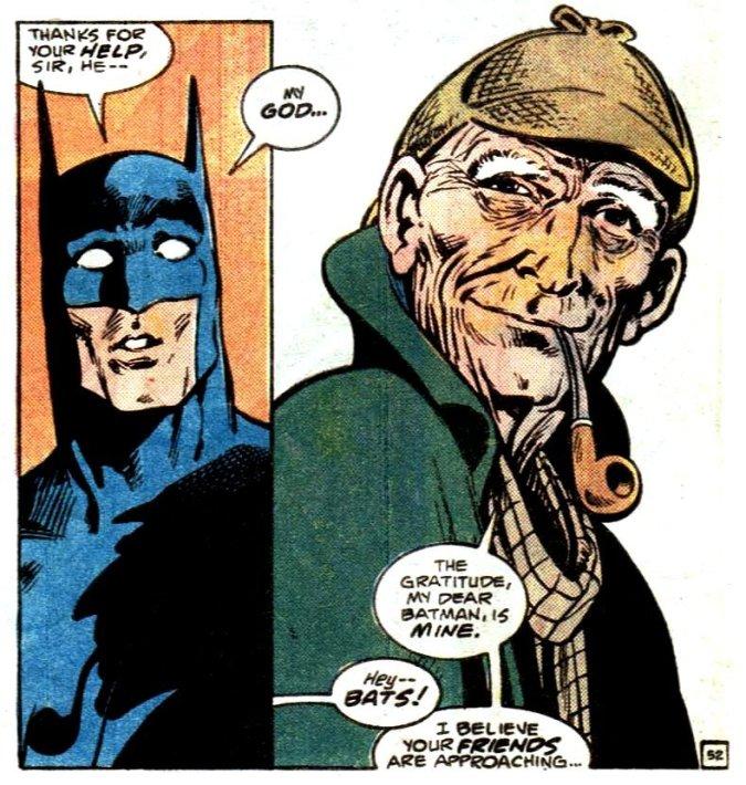 Panel from Detective Comics #572