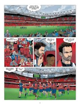 Page from Arsenal FC: The Game We Love by Philippe Glogowski