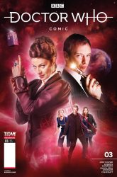 Doctor Who: Missy #3 Cover B by Andrew Leung