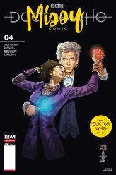 Doctor Who: Missy #4 Cover A by Blair Shedd