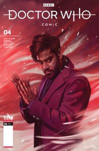 Doctor Who: Missy #4 Cover C by Claudia Caranfa