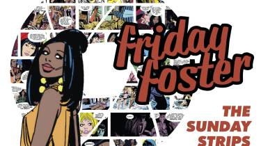 Friday Foster: The Sunday Strips cover