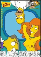 Comic los simpsons porno