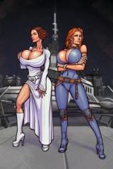Leia y Mara Star Wars XXX