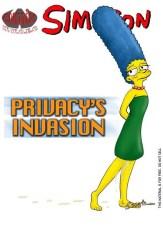 Simpsons – Privacy's Invasion comic en español