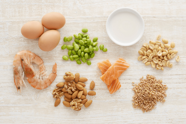 Como introduzir alimentos que podem causar alergia
