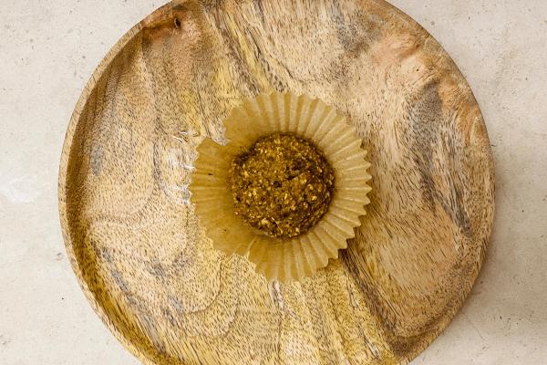 Muffins de maçã e aveia