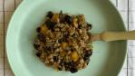 carne com abóbora e feijão
