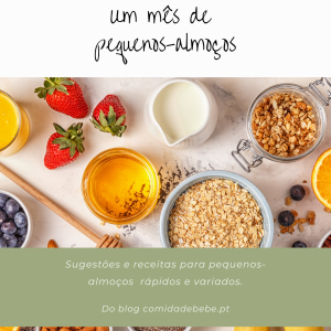 ebook um mês de pequenos-almoços