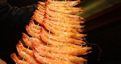 Festival do Pescado tem espeto de camarão