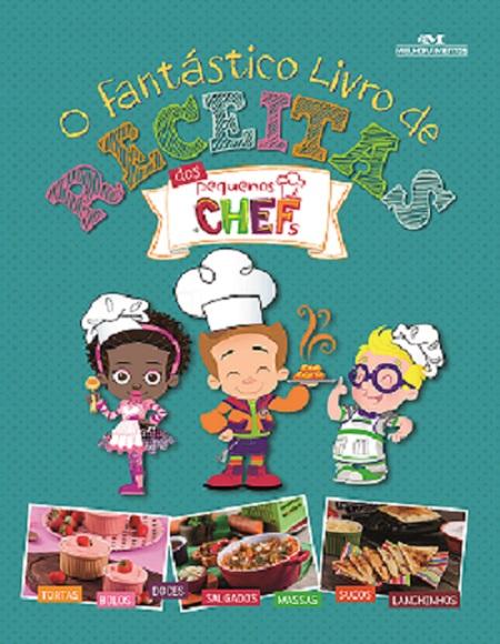 Livro ensina crianças a preparar receitas fáceis na cozinha