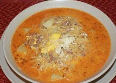 Receta de Sopa a la Minuta