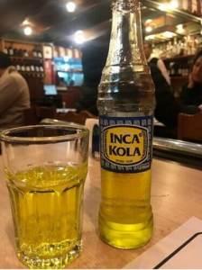 Bebidas peruanas Inka Cola