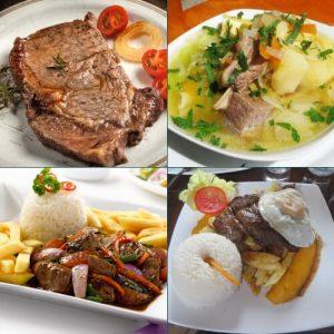 recetas peruanas con carne