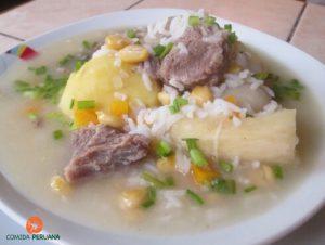 Receta de Sopa de Cordero