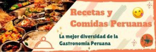 web de recetas de comida peruana web