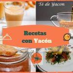 Recetas con yacon p