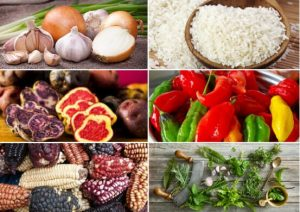 ingredientes de la comida peruana