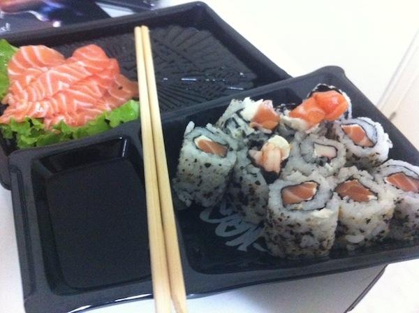 Sushi e sashimi
