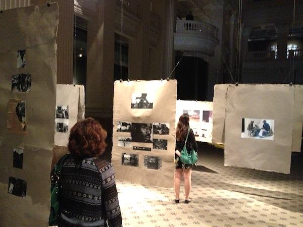 Exposição de arte no Santander Cultural