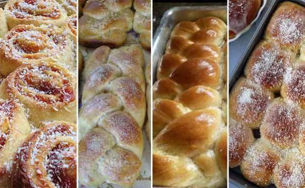 Massa Básica para Pães e Roscas Doces - Comidinhas do Chef