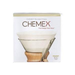 Chemex Bonded Filters FC-100 Pre-folded Circles