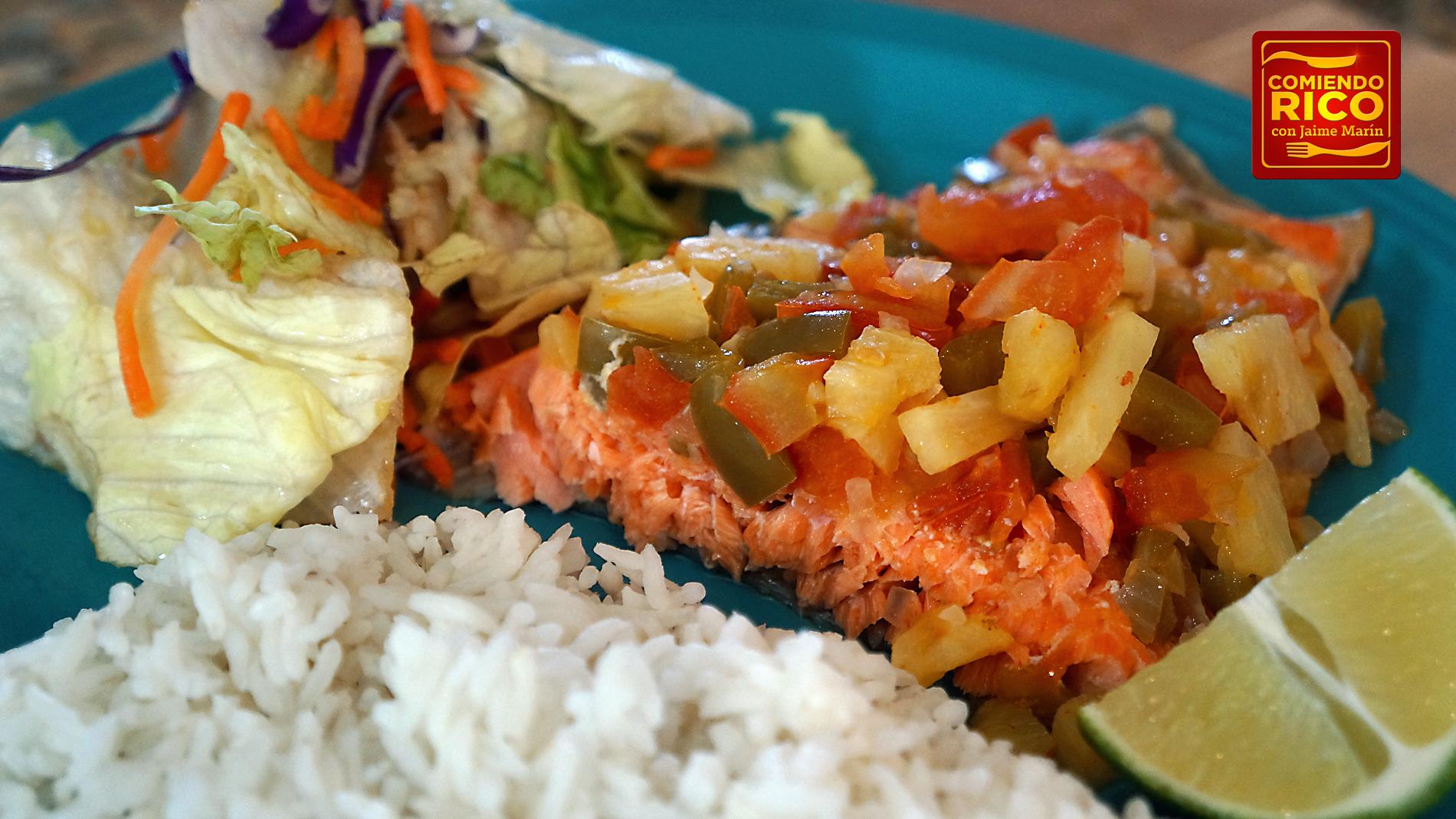 Salmon al Horno - Comiendo Rico