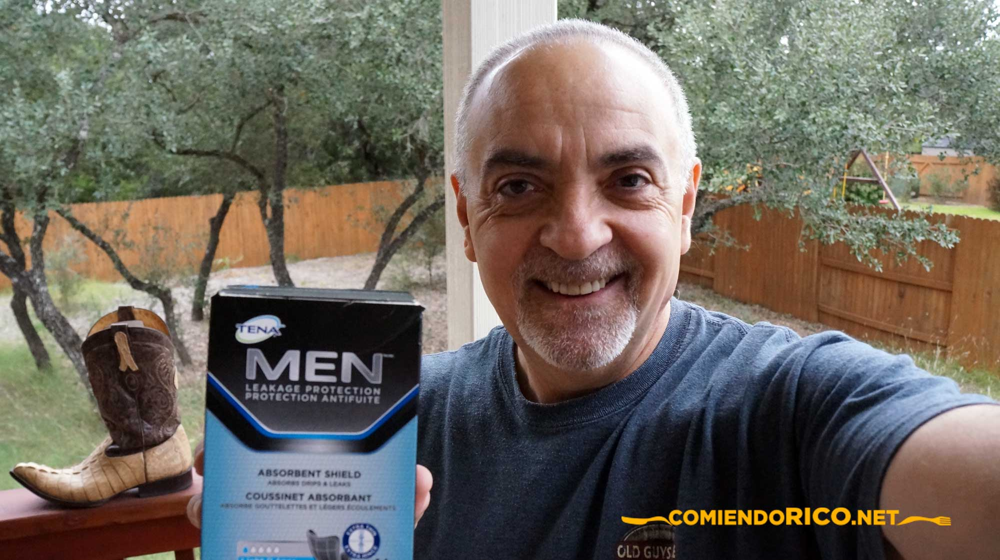 TENA® MEN™ Protective Shield, incontinencia urinaria