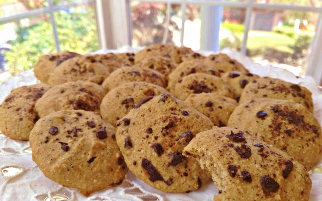 Receta: Galletas veganas de avena y chocolate