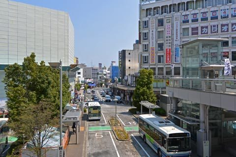 小田原駅周辺