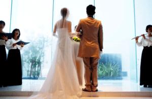 結婚式出会い