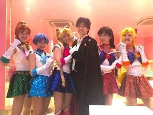 sailor moon show_戦士撮影