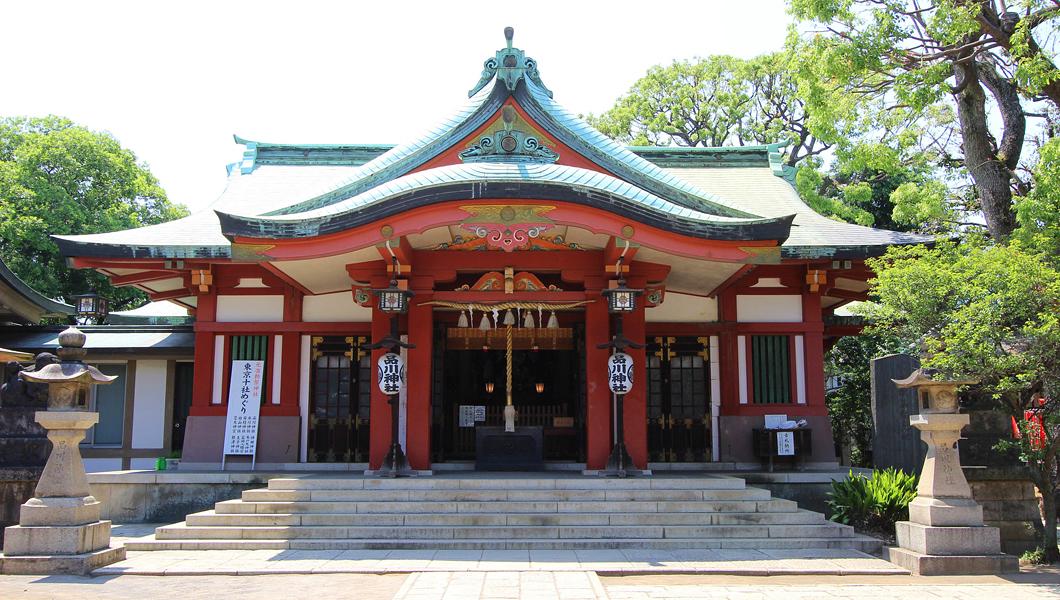 新東京八名勝 品川神社