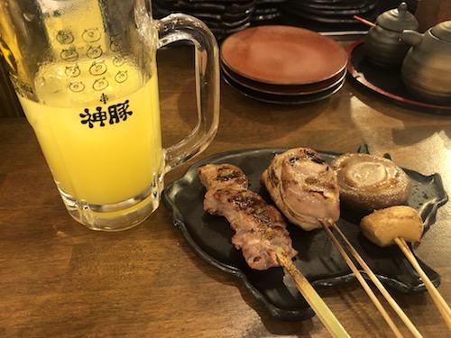神豚 ドリンク・串2