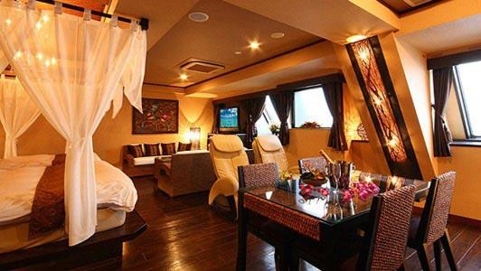 HOTEL Bali An Resort 千葉中央店の内装
