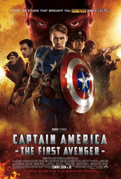 CAPTAIN AMERICA: THE FIRST AVENGER - international poster