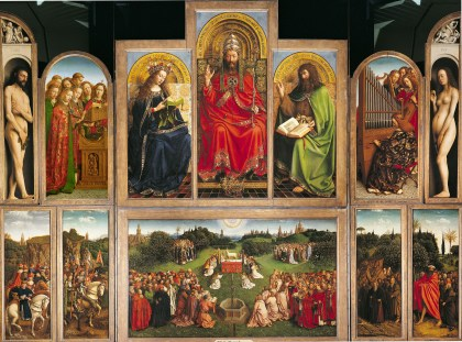 The Lamb of God by Jan van Eyck