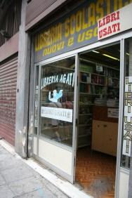 Used books shop...