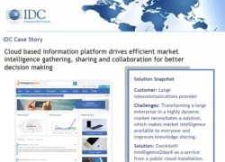 Market Intelligence Portal IDC-Case-Study