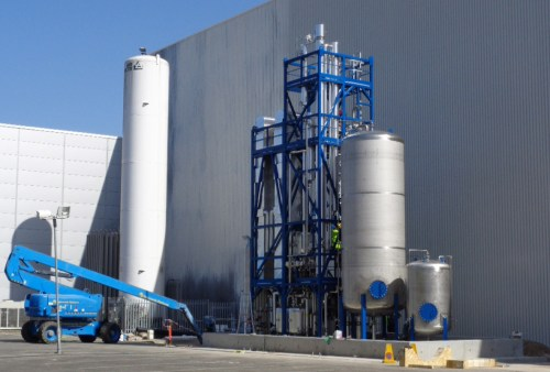 Cryogenic Solvent Recovery