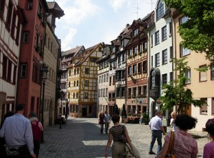 Flânerie dans la ville de Nuremberg ! 2009