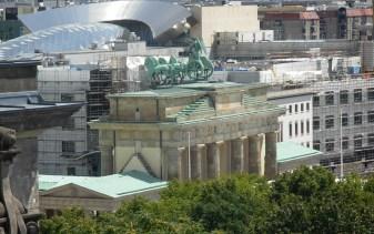 Berlin ! La porte de Brandebourg 2007