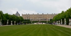 Le château de Versailles depuis les jardins ! 2010