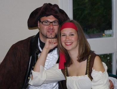 Un couple de gentils corsaires !