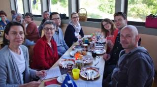 Petit-déjeuner à Gaukönigshofen !