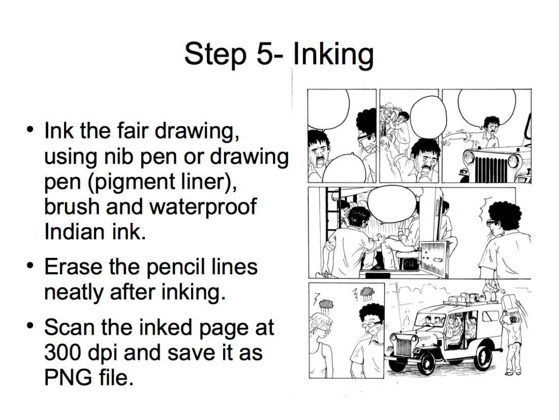 How to draw comics-05