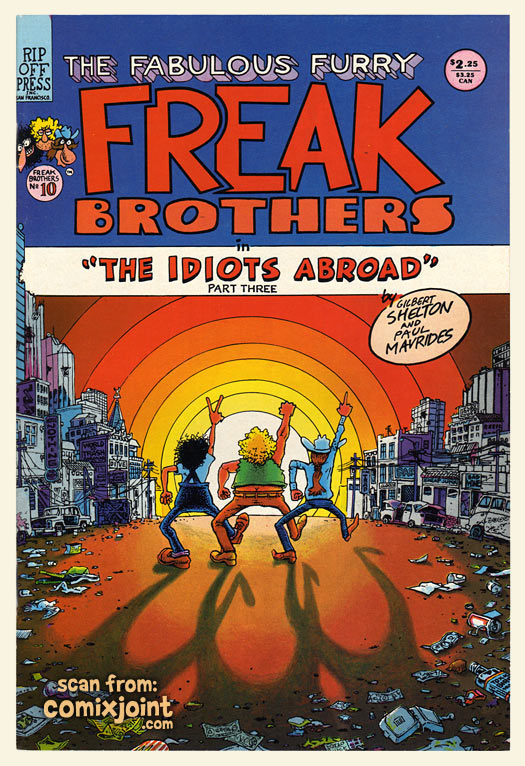 The Fabulous Furry Freak Brothers 10 1st Printing At