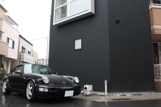 ザウスの完成見学会4 -須磨の狭小住宅-